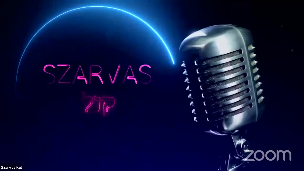 🎤 Join our own first ever online singing talent show – The Szarvas קול (Kul). 🎺🕍 The Szarvas Kul …