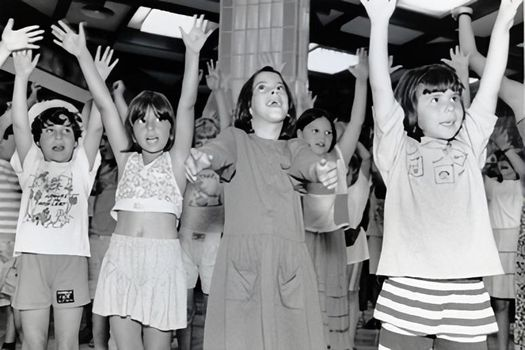 #ThrowBackThursday to 1995, when campers gathered in Imaterem are singing together. Summer has …